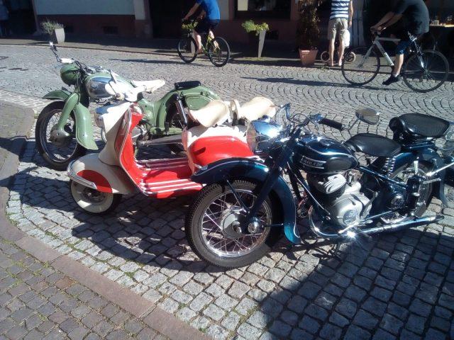 Adler M 200 Ausfahrt