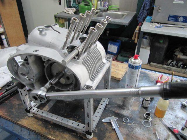 Adler M 200 Motorinstandsetzung
