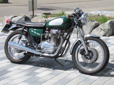 Yamaha XS 650, Typ 447, Bj. 1978