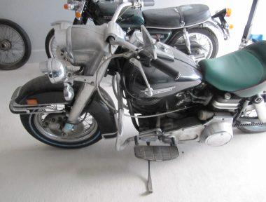 Harley im Originalzustand