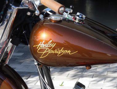Tankaufschrift Harley