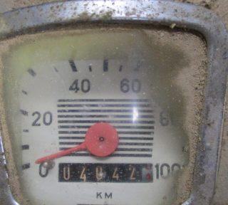 Zündapp Super Combinette 517-02 L1 Tacho